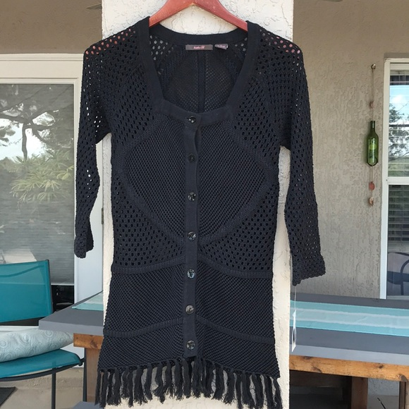 Heather Charcoal The Limited Womens Size Medium Pullover Sweater
